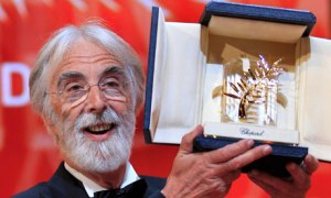 Haneke and his Palme D'Or at Cannes 2012